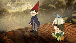 over the garden wall is a fairy tale for the adventure time