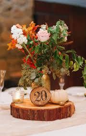 country wedding centerpieces wooden slab for wedding centerpiece ideas weddceremony