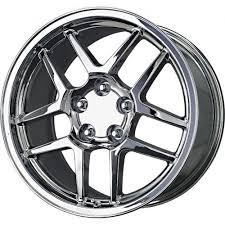 chrome corvette wheels c5 zo6 corvette chrome replica wheels 17x9 5 18x10 5 set of 4 at