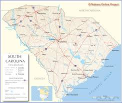 road map of south carolina picture foto car templates fotos maps of south carolina