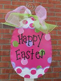 Easter Decorations Door by Crafts Door Hangers Picmia