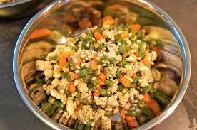 cuisine pour d饕utant recette pour chien ration ménagère du débutant baikasblog