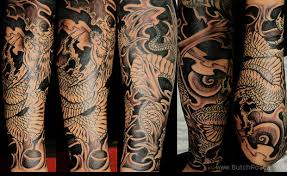 chinese dragon half sleeve tattoo photo 2 2017 real photo