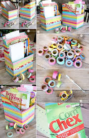 things to do with washi tape whattodowithold what to do with old cereal boxes