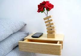 wall mounted bedside shelves floating nightstand wall mounted