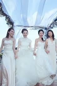 wedding dress di bali hsu s stunning bali wedding photos revealed