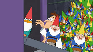 image lawn gnome beach party of terror32 jpg phineas and ferb