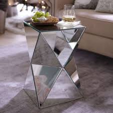 miera diamond mirrored accent table from pier 1 imports