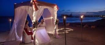 romantic dinner for two coco beach resort ambergris caye belize