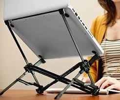 Ergonomic Laptop Desk Portable Workstation Sit Stand Lay Workstation