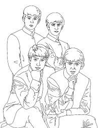 beatles coloring pages coloring