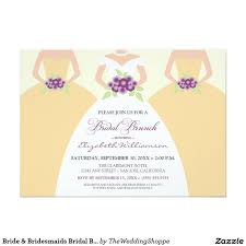 bridesmaid brunch invitation 127 best wedding bridal luncheon invitations images on