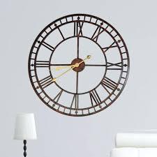 vintage retro home decor wall clocks old style wall clocks large vintage looking wall