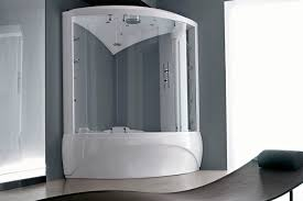 steam shower cubicle glass corner with hinged door dafne