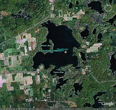 Hayward Wisconsin Map by Round Lake Maps