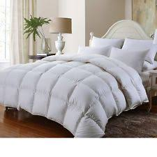 Chezmoi Collection White Goose Down Alternative Comforter Queen Comforter Ebay