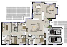 4 bedroom home plans house plans with 4 bedrooms contemporary 17 hillside 4 bedroom 2
