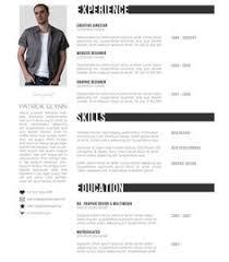 top 10 creative resume templates for web designers codofolio