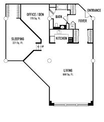 Industrial Floor Plans Lofts 640 Floorplans Floorplan Q