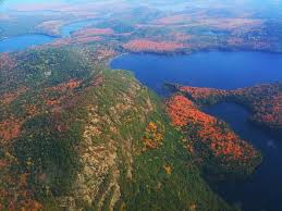 Michigan Mountains images Birds eye view of the huron mountains michigan in pictures jpg