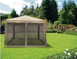 tonnelle de jardin avec moustiquaire galileo casa 2179286 tonnelle avec moustiquaire 3 x 3 m gris