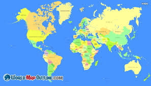 map continents world map outline continents and oceans worldmapoutline