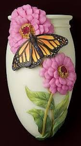 Franz Butterfly Vase Franz Collection Island Beauty Hibiscus Vase I Have Two Pieces