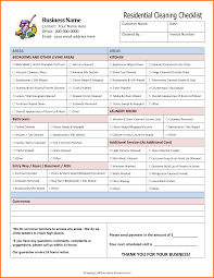 cleaning report template apartment cleaning checklist 68714108 png sales report template