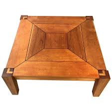coffee table in spanish rob edley welborn prototype square coffee table in spanish cedar for
