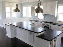 chic color schemes for kitchens with white cabinets perfect
