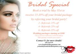 wedding makeup packages bridal special microblading eyelash extensions tempe