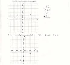 Coordinate Grid Pictures Worksheets Graphing Points In The Plane Students Are Asked To Graph Points