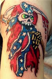 Arizona Flag Tattoo Evil Tattoo Image Gallery Evil Tattoo Gallery Evil Tattoo
