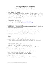 Example Of Rn Resume Sample Resume For Community Nurses Augustais