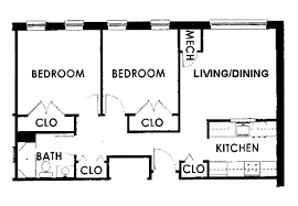 Two Bedroom Floor Plan Plan For Two Bedroom Flat Buybrinkhomes Com