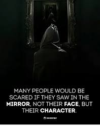Scared Face Meme - many people would be scared if they saw in the mirror not their
