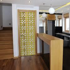 modern creative design 3d acrylic mirror wall sticker living room