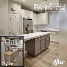 refinishing kitchen cabinets san diego san diego painting refinishing 38 photos 23