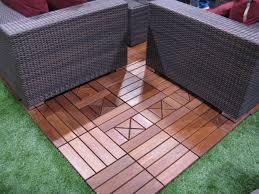 patio diamond floor tiles with wood tile material for patio