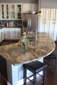 kitchen island granite countertop 9 best granite countertops images on kitchen cabinets