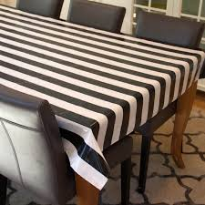 Fitted Oval Vinyl Tablecloths Oilcloth Tablecloth Laminated Cotton Waterproof Coated Table Cloth