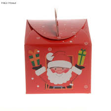 aliexpress com buy high quality candy gift cake box santa claus