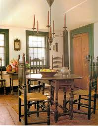 gate leg table ladder back chairs simple candle light plain
