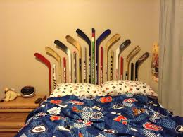 Hockey Teen Bedroom Ideas Hockey Stick Bed Frame Hockey Pillow Cases Hockey Sheets
