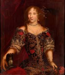 noble lady said to be princess henrietta of england 1644 1670
