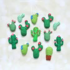 diy felt cactus decorations ornaments cactus obsession