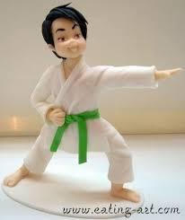 karate cake topper karate kid cake topper clay karate judo торт