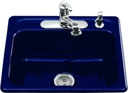 Blue Kitchen Sink Blue Kitchen Sink Cobalt Sayart Me Throughout Plans 14