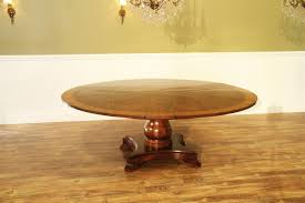 jupe table traditional formal round mahogany jupe table