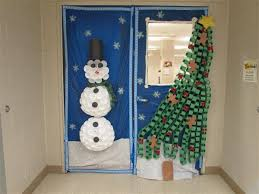Door Decorations For Winter - holiday winter door decorating contest overview